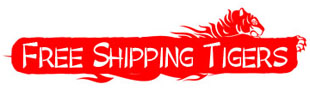 Free Shipping Tigers