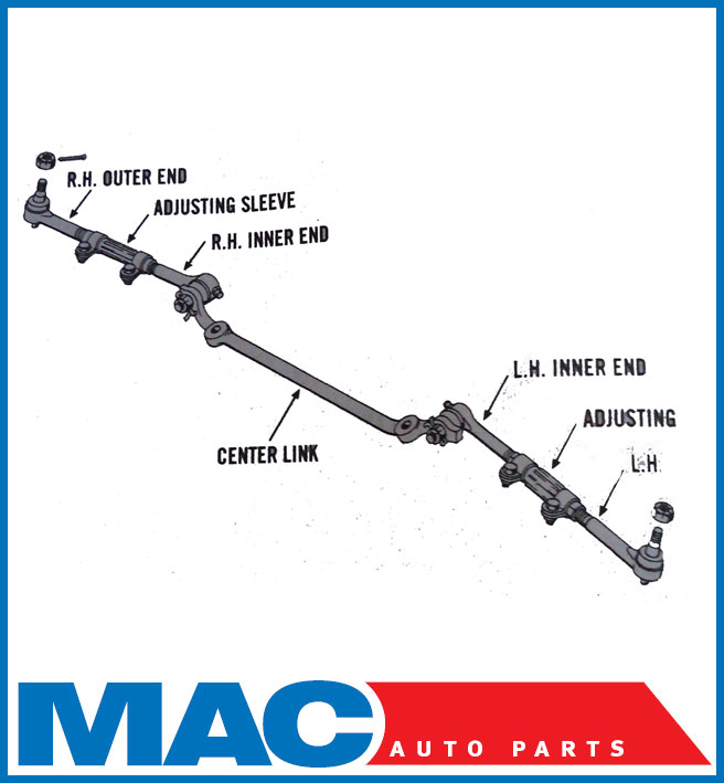 Steering Linkage Diagram For Chevy 1999 K1500 4x4  Parts