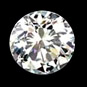 round shape loose diamond