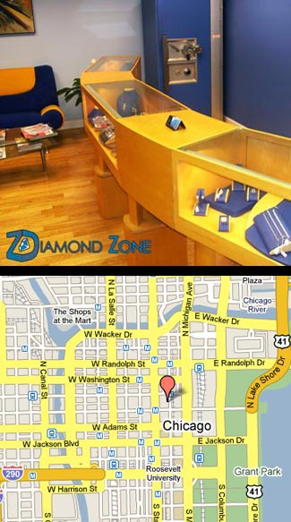 diamond zone store map