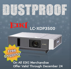Eiki Dust Proof LC-XDP3500 Free Shipping on All Eiki Merchandise