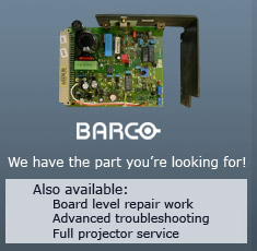 Find Barco Projector Parts