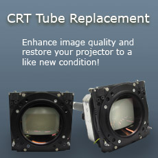 Replace your CRT Tubes and restore your image