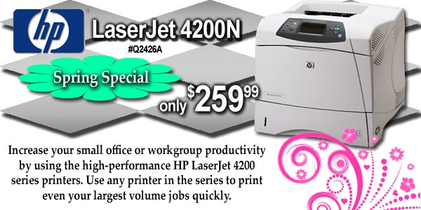 Buy this HP 4200N Printer Now!