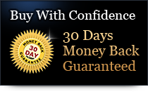 Buy With Confidence - 30 Days Money Back Guaranteed