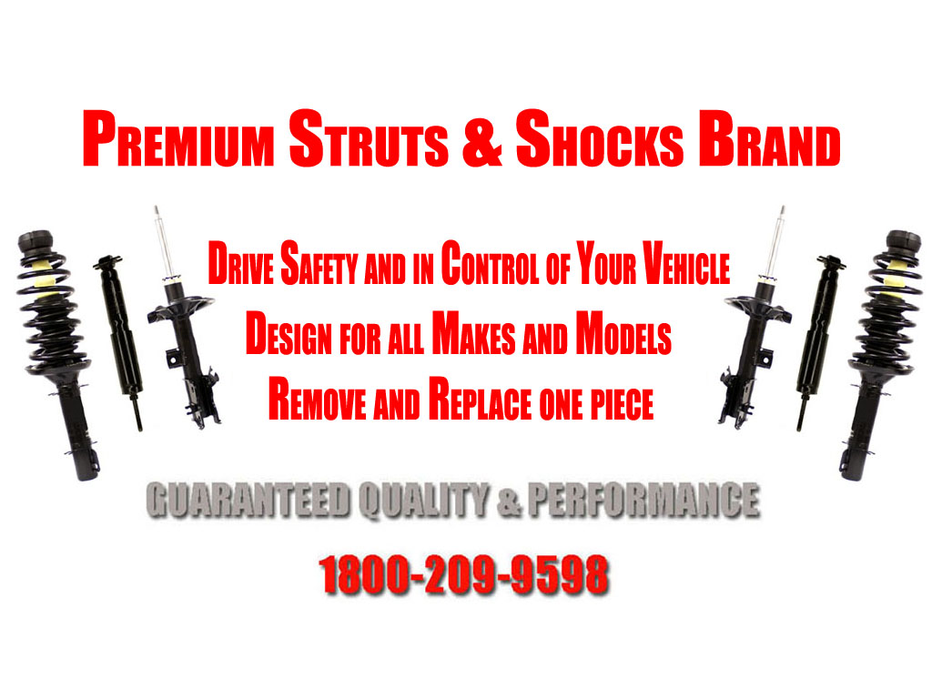 2.4L 2.7L 3.7L 98-04 Tacoma Pre-Runner Front Struts and Rear Shocks RWD ONLY!!
