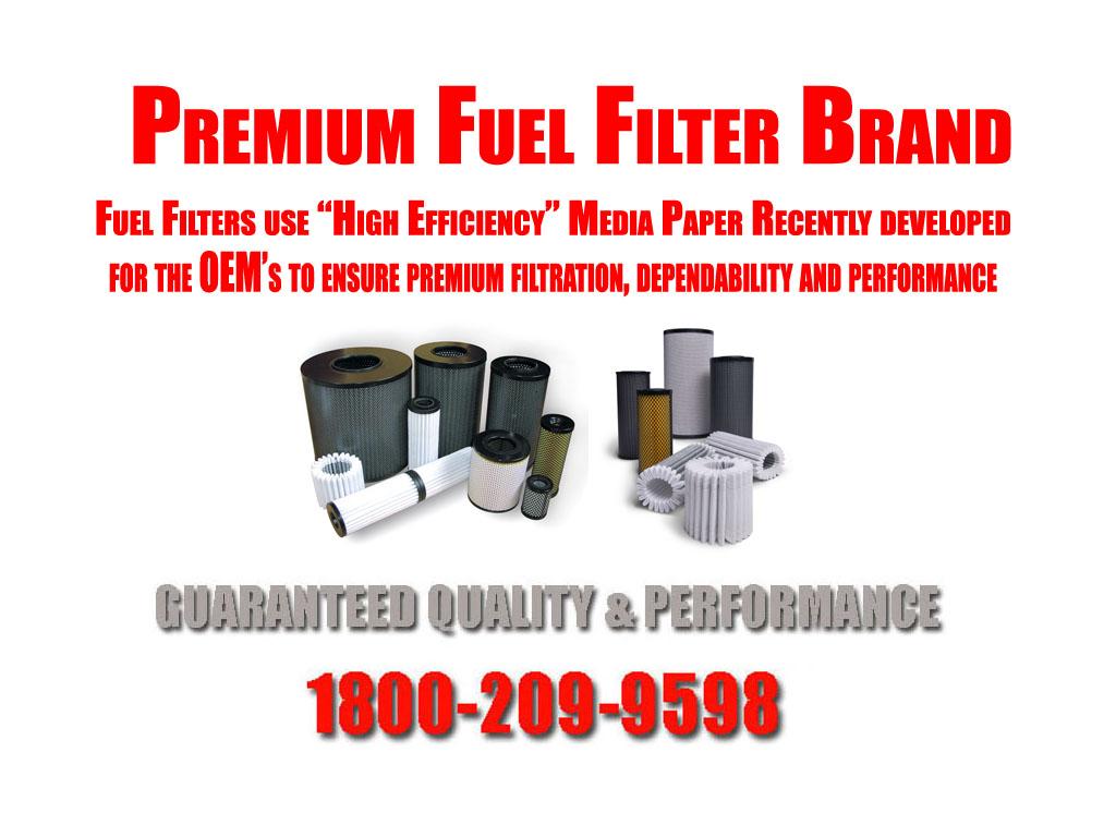 Excursion E350 F250 F350 F450 F550 Super Duty 73l Diesel Turbo Fuel Filter For 3 X Part Pcs8629 Cartridge Filters